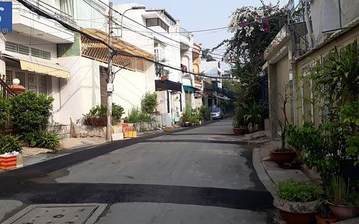 Bán nhà Hẻm 502 Huỳnh Tấn Phát gần chợ Lý Phục Man 74tr/m2